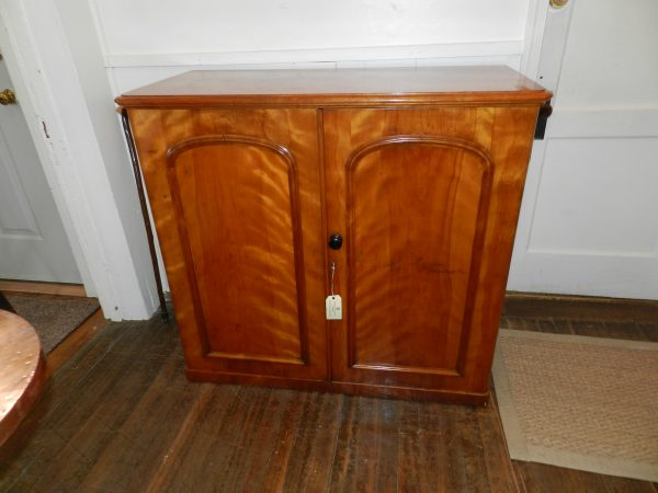 Satin Walnut Cupboard