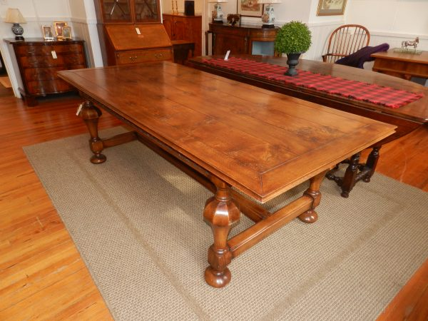 Hand Made Oak Refectory Table