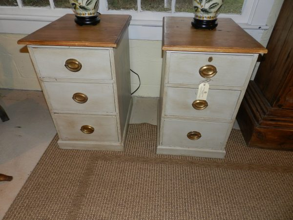 Pair of Painted Chests