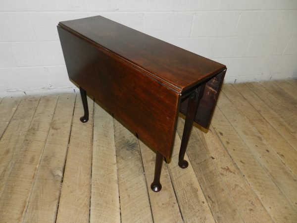 Narrow Mahogany End Table