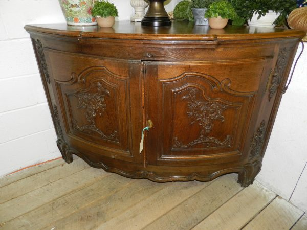 French Corner Cupboard