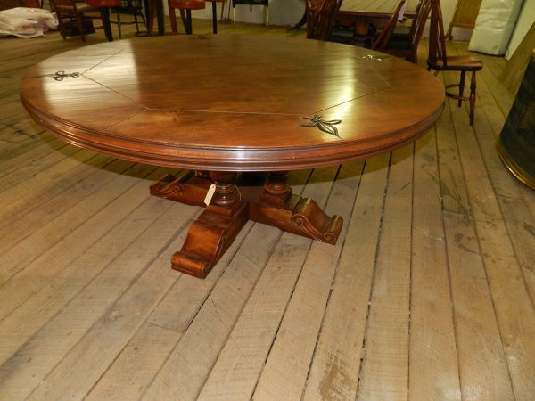 Custom Made Round Cherry Table