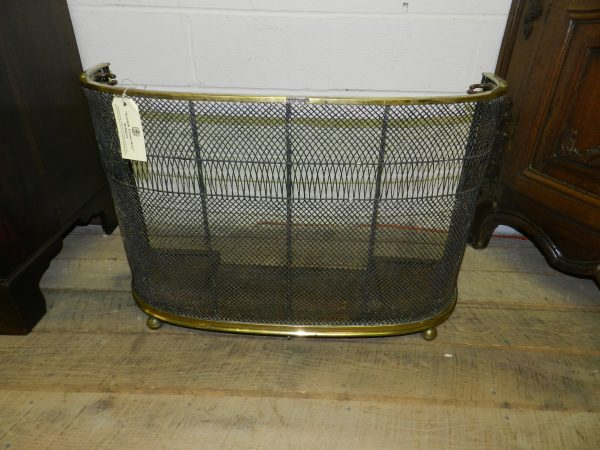 Brass Fire Guard